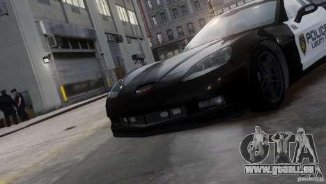 Chevrolet Corvette LCPD Pursuit Unit pour GTA 4 est un droit