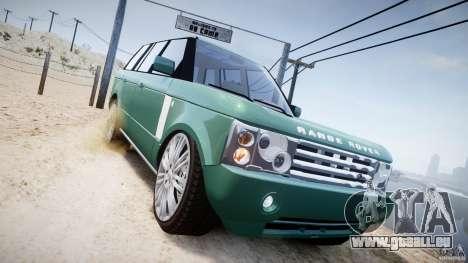 Range Rover Vogue für GTA 4 Seitenansicht