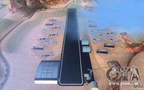 New Verdant Meadows Airstrip für GTA San Andreas