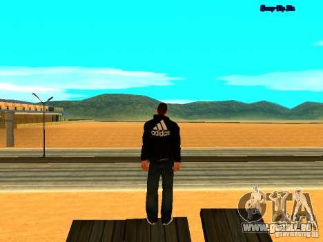 Nouvelle peau pour Gta San Andreas pour GTA San Andreas quatrième écran