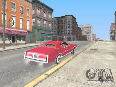 Cadillac Eldorado pour GTA San Andreas vue arrière