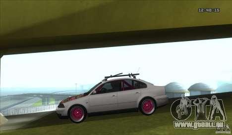 Volkswagen Passat B5.5 JDM pour GTA San Andreas laissé vue