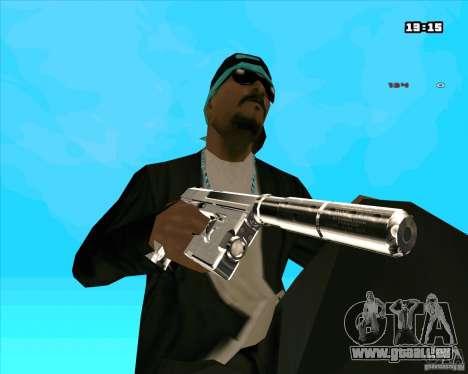 Chrome Weapon Pack pour GTA San Andreas