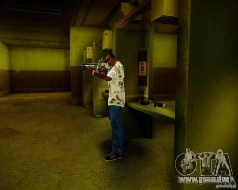 Tavor Tar-21 Digital für GTA San Andreas fünften Screenshot