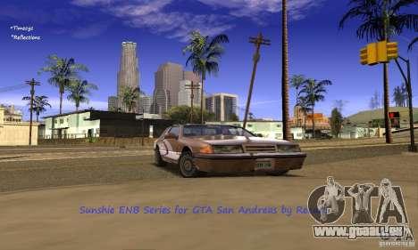 Sunshine ENB Series by Recaro pour GTA San Andreas