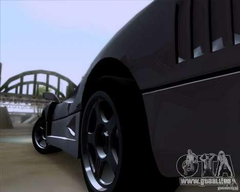 Ferrari F40 für GTA San Andreas rechten Ansicht
