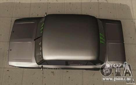 L'écoute de Drift Lada VAZ 2106 pour GTA San Andreas vue de droite