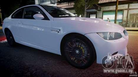 BMW M3 E92 2008 v.2.0 pour GTA 4 est un côté