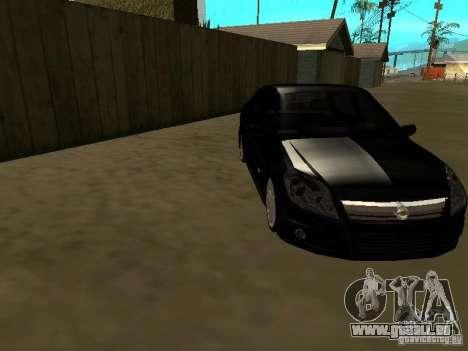Chevrolet Vectra Elite 2.0 pour GTA San Andreas vue arrière
