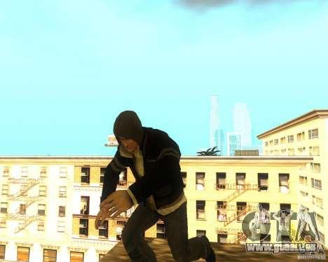 Alex Mercer ORIGINAL pour GTA San Andreas deuxième écran
