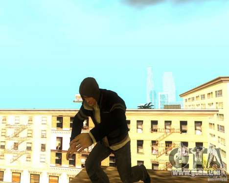 Alex Mercer ORIGINAL für GTA San Andreas zweiten Screenshot