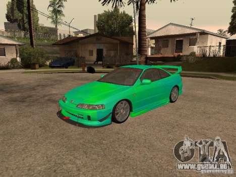 Honda Integra 2000 für GTA San Andreas Innen