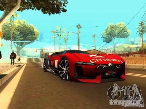 Citroen GT Gran Turismo für GTA San Andreas