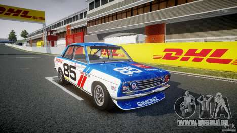 Datsun Bluebird 510 1971 BRE für GTA 4 rechte Ansicht
