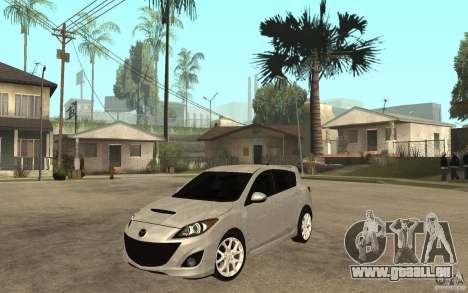 Mazda 3 Mazdaspeed 2010 für GTA San Andreas