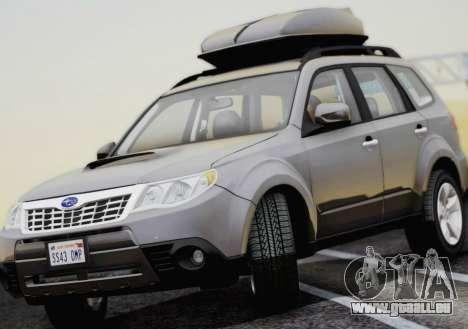 Subaru Forester XT 2008 pour GTA San Andreas vue de droite