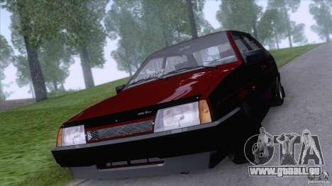 VAZ 2109 vidange finale pour GTA San Andreas laissé vue