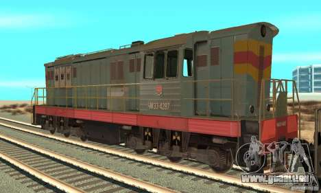 Locomotive ChME3-4287 pour GTA San Andreas