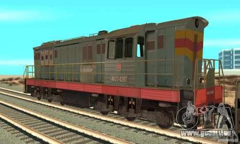 Lok ChME3-4287 für GTA San Andreas