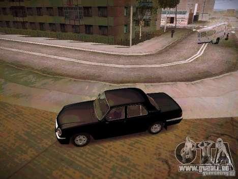 GAZ Volga 31105 S60 pour GTA San Andreas laissé vue