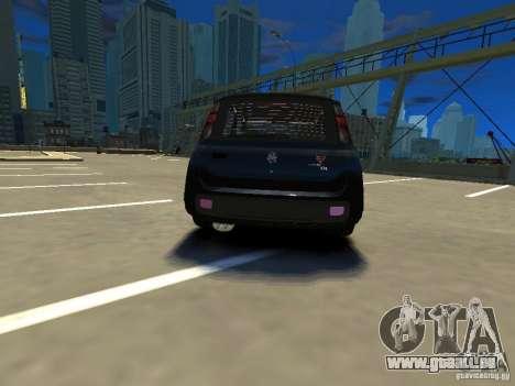 Fiat Novo Uno Sporting pour GTA 4 Vue arrière de la gauche