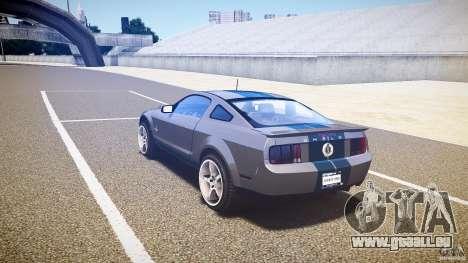 Shelby GT500kr pour GTA 4 est un droit