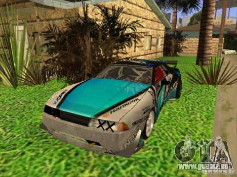 Elegy Drift Korch v2.1 pour GTA San Andreas vue intérieure