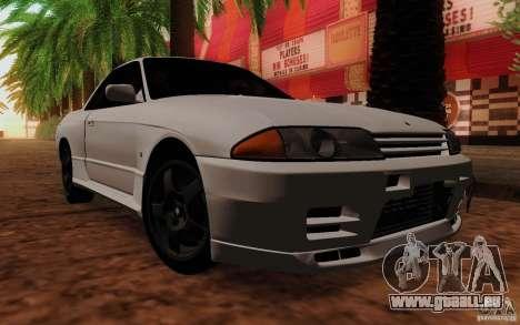 Nissan Skyline GT-R R32 1993 Tunable pour GTA San Andreas sur la vue arrière gauche