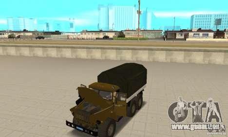 Ural 4320 pour GTA San Andreas vue de droite