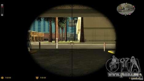 Cs 1.6 HUD v2 pour GTA San Andreas deuxième écran