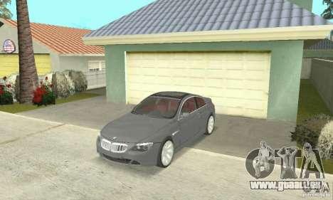 2004 BMW 645ci E63 mit roten Interieur für GTA San Andreas
