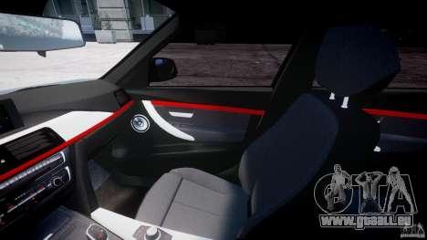 BMW 335i E30 2012 Sport Line v1.0 für GTA 4 Rückansicht