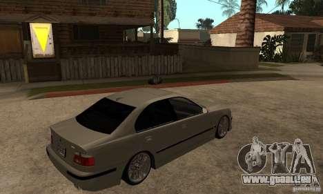 BMW E39 M5 Sedan für GTA San Andreas rechten Ansicht