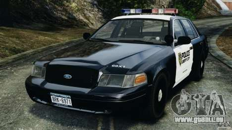 Ford Crown Victoria Police Interceptor 2003 LCPD pour GTA 4