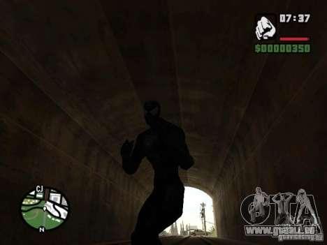 Ennemi de Spider-man dans la réflexion pour GTA San Andreas septième écran