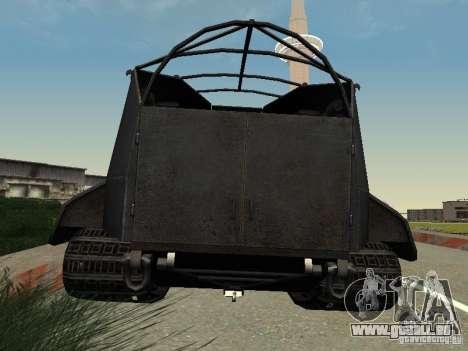 GW Typ E für GTA San Andreas zurück linke Ansicht