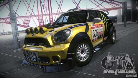 Mini Countryman WRC pour GTA San Andreas
