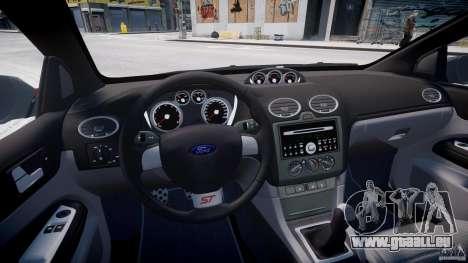 Ford Focus ST (X-tuning) pour GTA 4 Vue arrière