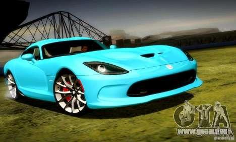 Dodge Viper SRT  GTS für GTA San Andreas linke Ansicht