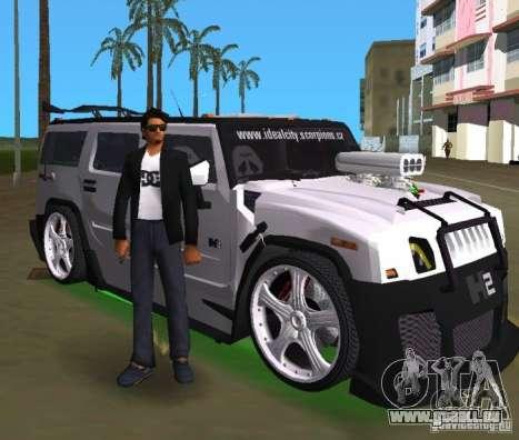 AMG Hummer H2 Hard Tuning v2 für GTA Vice City