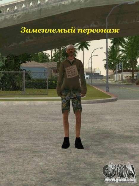 Regroupement de mercenaires d'un harceleur pour GTA San Andreas douzième écran