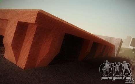 New SF Army Base v1.0 pour GTA San Andreas troisième écran