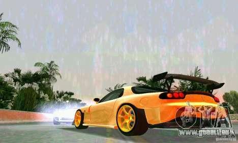 Mazda RX7 RE-Amemiya für GTA Vice City Rückansicht