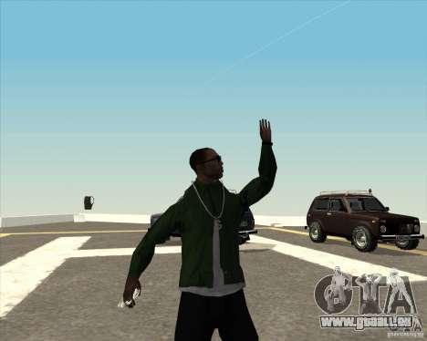 Animation différente pour GTA San Andreas septième écran