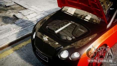 Bentley Continental SS 2010 Le Mansory [EPM] pour GTA 4 est un droit