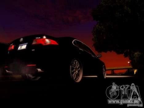 Acura TSX pour GTA San Andreas vue de côté