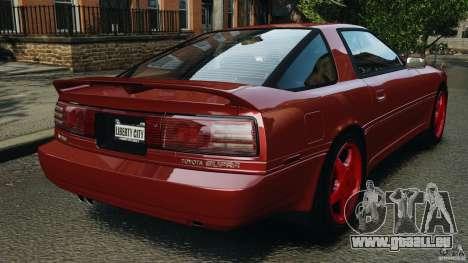 Toyota Supra 3.0 Turbo MK3 1992 v1.0 [EPM] für GTA 4 hinten links Ansicht