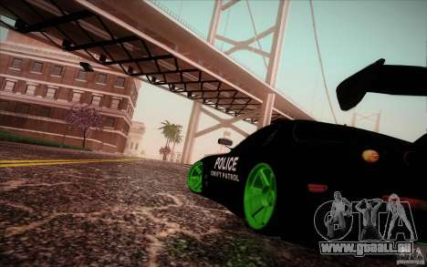 New roads San Fierro für GTA San Andreas dritten Screenshot