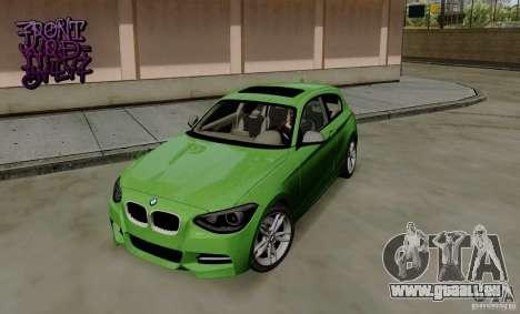BMW M135i V1.0 2013 pour GTA San Andreas