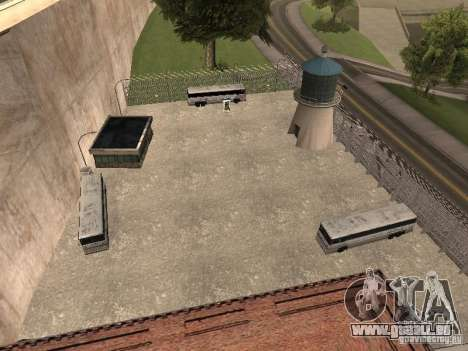 Busparkplatz v1. 1 für GTA San Andreas